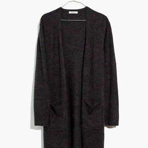 Madewell Donegal Kent Cardigan Sweater Coziest Yar